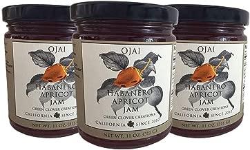 Ojai Habanero Apricot Jam 11 oz jars (3 pack)