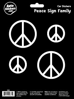 WMI Designs (9002) Peace Sign Stickers