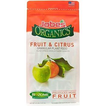 Jobe's Organics 09226 FBA_B0030EK5JE Fruit & Citrus Fertilizer with Biozome, 3-5-5 Organic, 4 lb, Original Version