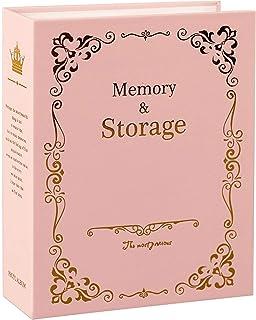 QPY 6 Pouces 100 Pages Type De Pochette Album Photo Cadre De Stockage D'Images Scrapbooking pour Enfants