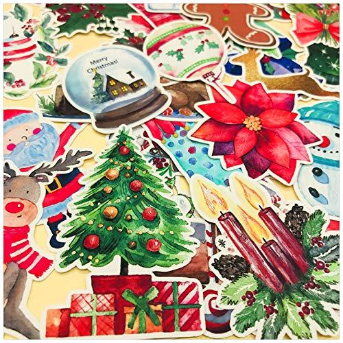 Tent Stickers Pack Nieuwjaar Vakantie Kerst Tent Stickers Decoratie 33