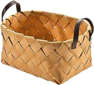 Picnic basket Cadre De Panier De Fruits Tissé, Cadre De Pain Portable De Salon De Ménage, Cadre De Rangement Japonais Tiss...