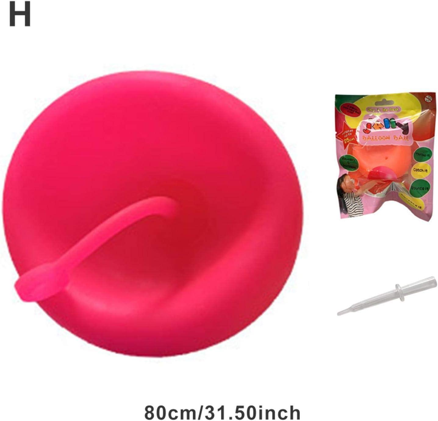 Earthily Wasserball Bubble Ball Spielzeug,Interaktiver Ball Aufblasbar f/ür Kinder Aktivit/äten im Freien