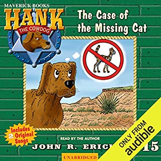 The Case of the Missing Cat audiobook cover art