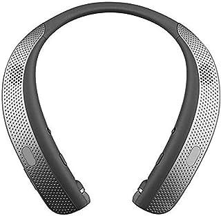 Viugreum ウェアラブルスピーカー Bluetoothイヤホン2 in 1 ネックスピーカー 肩掛けスピーカー 4つのスピーカー搭載モデル サラウンド サウンド ステレオ 音楽 プレーヤー ヘッドセット HI-FI 3Dステレオ マイク内蔵 通話可能 軽量