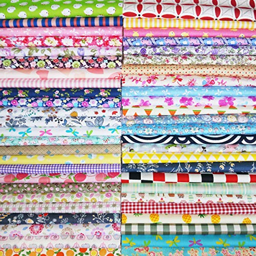 Misscrafts 7pcs Quilting Fabric 18