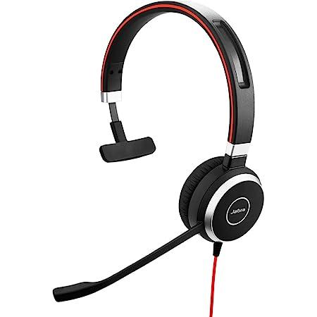 Jabra Evolve 40 Ms Mono Headset Microsoft Teams Zertifizierte Kopfhörer Für Voip Softphone Mit Passivem Noise Cancelling Usb C Kabel Mit Anrufsteuerung Schwarz Elektronik