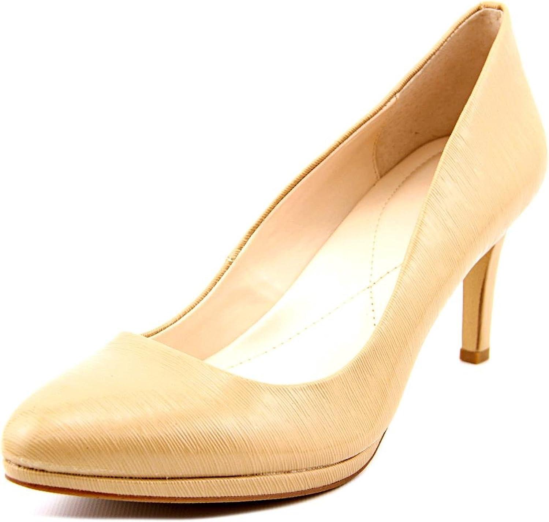 Alfani Womens Glorria Closed Toe Classic Pumps, Khaki Fresco, Size 8.5