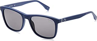 نظارة شمسية للرجال من لاكوست، لون اسود 56 ملم - L860SP