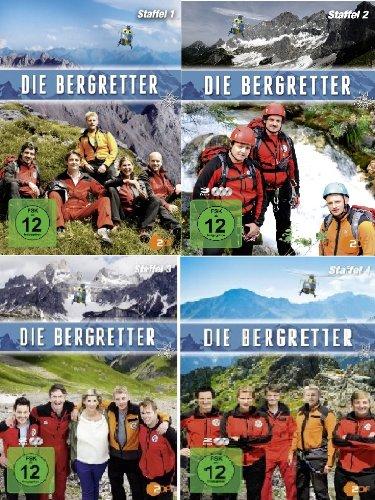 Die Bergwacht / Die Bergretter - Staffel 1-4 im Set - Deutsche Originalware [8 DVDs]