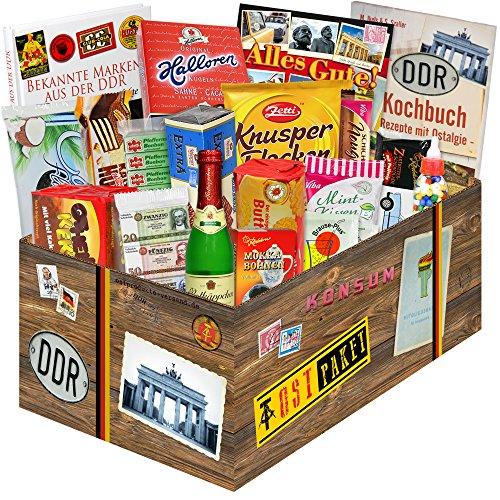 DDR Sueßigkeiten Box mit DDR Waren / Geschenke für Freundin Geburtstag