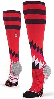 Women's Uncommon Over The Calf Socks (Red)