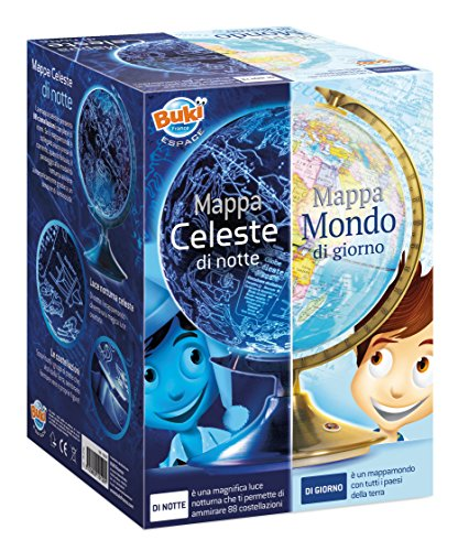 Buki France- Giorno e Notte Globo, Multicolore, 7341IT