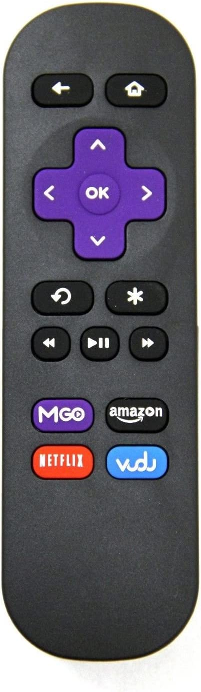Replacement Remote Control Controller for Roku Premiere+ 4630R - HD and 4K UHD Streaming Media Player