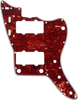 Musiclily Pro 13-Hole 65 60s Vintage Guitar Pickguard for Fender American Jazzmaster, 4Ply Vintage Tortoise