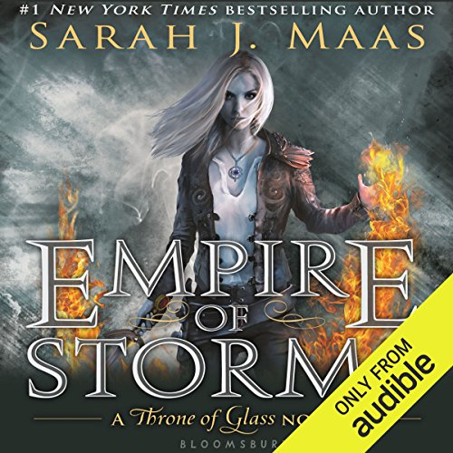 Empire of Storms                   By:                                                                                                                                 Sarah J. Maas                               Narrated by:                                                                                                                                 Elizabeth Evans                      Length: 25 hrs and 18 mins     640 ratings     Overall 4.7