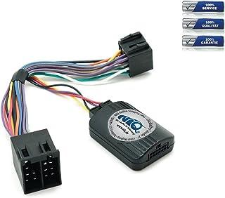 NIQ Lenkradfernbedienungsadapter geeignet für KENWOOD Autoradios, kompatibel mit Opel Astra / Agila / Corsa / Meriva / Omega / Vectra B / Vivaro / Zafira