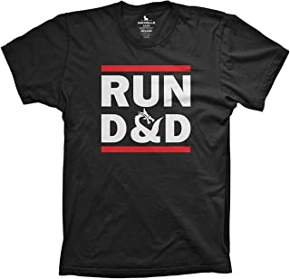 Guerrilla Tees Run D&D Shirt Funny Tshirts Board Game dice Shirt