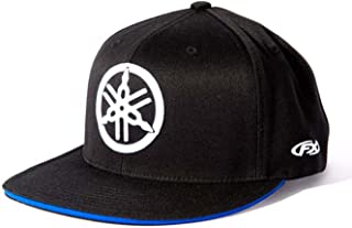 Factory Effex 17-88290  Yamaha Fork Flex-Fit Hat (Black, Small/Medium)
