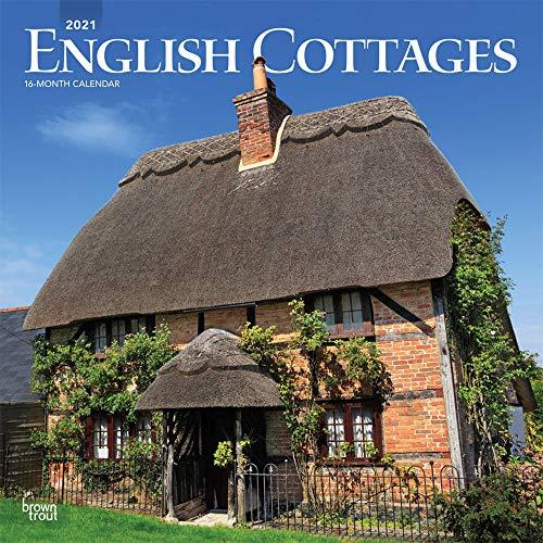 English Cottages - Englische Landhäuser 2021 - 16-Monatskalender: Original BrownTrout-Kalender [Mehrsprachig] [Kalender] (Wall-Kalender)