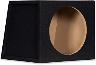 """12S Sealed 12"""" Single Car Bass Box Speaker Enclosure Cabinet for Car Truck SUV"""