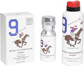 Beverly Hills Polo Club Eau De Toilette Sport 9 for Men, 100ml