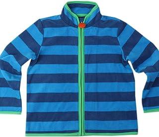 (トヨベイ)Toyobuy キッズ ジャケット カジュアル ボーダー トレーナー パーカー 子供 女の子 秋冬 スポーツ スウェット 通園 可愛い