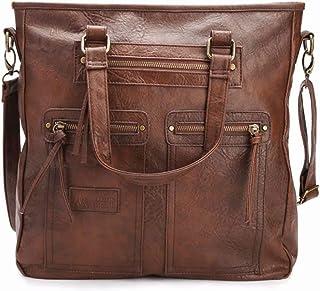 JINIU Geniune Leather Handbags Messenger Bag Big Capacity Satchel Passport Bag Travel Pouch