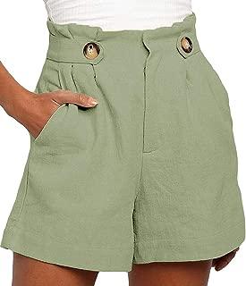 Vero MODA DONNA LINO Shorts Estate Shorts COMFORT FIT Bermuda Estate Pantaloni