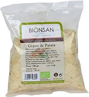 Bionsan Copos de Patata de Cultivo Ecológico - 6 Paquetes de 150 gr - Total : 900 gr