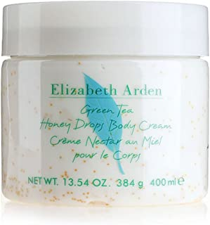 Elizabeth Arden Green Tea for Women - 13.54 oz Honey Drops Body Cream, 400.38 milliliters