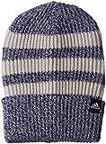 adidas, Berretto Unisex a 3 Strisce in Lana, Unisex - Adulto, Cappello, BR9924, Collegiate Navy/Grey Two/Black/White, Taglia Unica (Uomo)