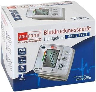 APONORM Medidor de presión arterial con base móvil para muñeca, 1 unidad