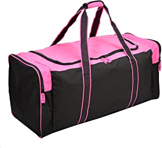 Jetstream 36 Inch 3-Pocket Hockey Equipment Duffle Bag (Pink)