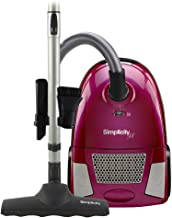Simplicity Jill Straight Suction Canister Vacuum Cleaner with Tools