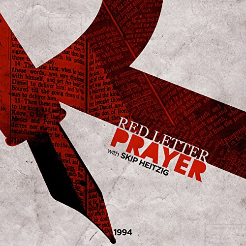 Red Letter Prayer audiobook cover art