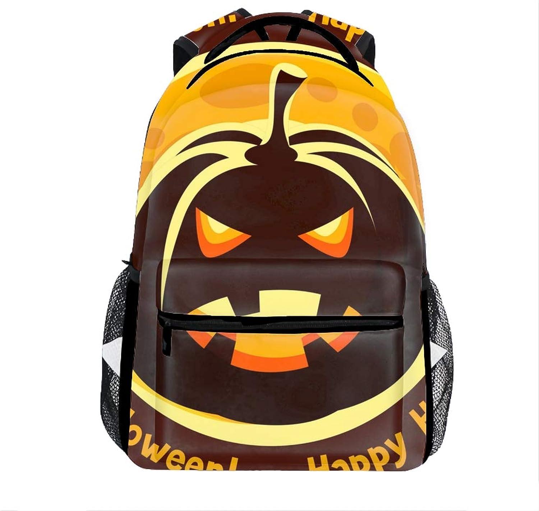 398ea242f651 Halloween Greeting School Bookbags for Girls, Cute Casual College ...