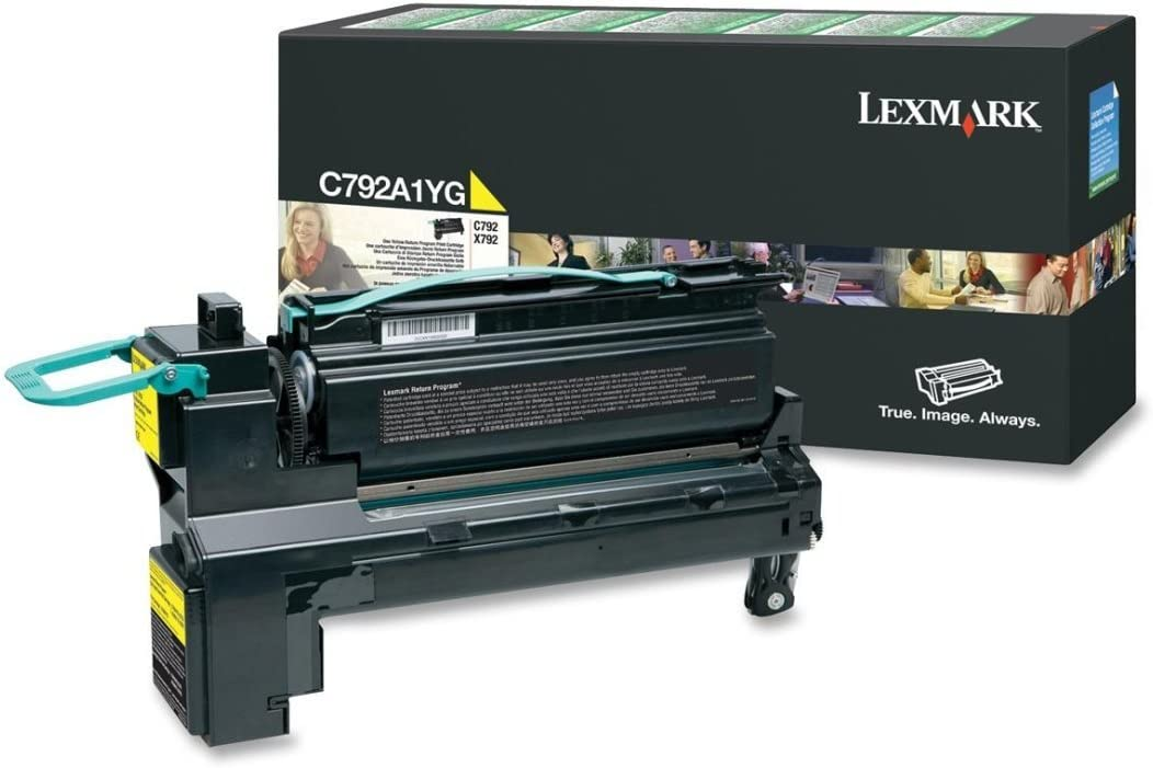 LEXC792A1YG C792A1YG Max 62% OFF Toner 6 Yellow Page-Yield Year-end annual account 000