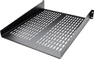 StarTech CABSHELF22V 2U Vented Rack Mount Shelf - Fixed Server Rack Cabinet Shelf, 22-inch