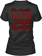 I Love Working Women's Tee, It's A Beautiful Thing When A Career T Shirt