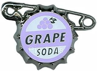 Disney Pin 79373- Disney-Pixar's Up - Ellie Badge Grape Soda, Purple and White, 1 X 4 X 3