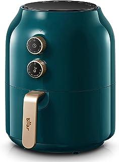 Bear Friteuse zonder olie, 3,5 l, heteluchtfriteuse, 1300 W, met timer, multifunctioneel, met temperatuurinstelling, lucht...