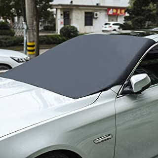 JTYX Windscreen Sun Shade Universal for Max UV Sun Protection Foldable Sunshade for Car Windshield Will Keep Your Car Cooler, 210X120CM