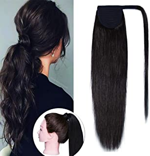 Best ponytail hair extensions human hair Reviews