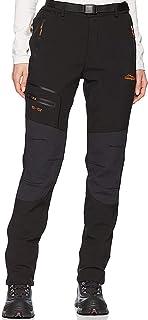 comprar comparacion BenBoy Pantalones de Nieve Montaña Mujer Impermeables Invierno Calentar Pantalones Trekking Escalada Senderismo Esquiar So...