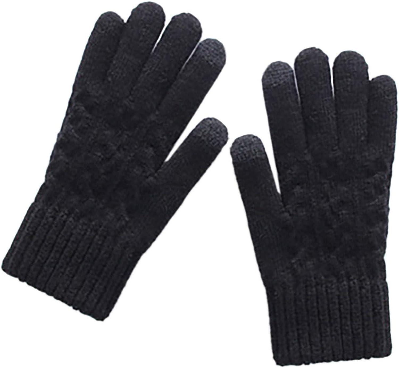 linyma Winter Gloves Women Women Multi-function Riding Screen Cute Winter Gloves Soft Warm Mitten 1F7E