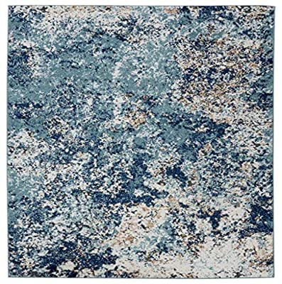 6490 Beige Abstract Area Rug Modern Carpet Large New