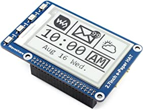 2.7inch E-Ink Display HAT E-paper Screen LCD Module 264x176 Resolution SPI Interface with Embedded Controller for Raspberry Pi 2B 3B 3B+ Zero Zero W/Arduino/STM32