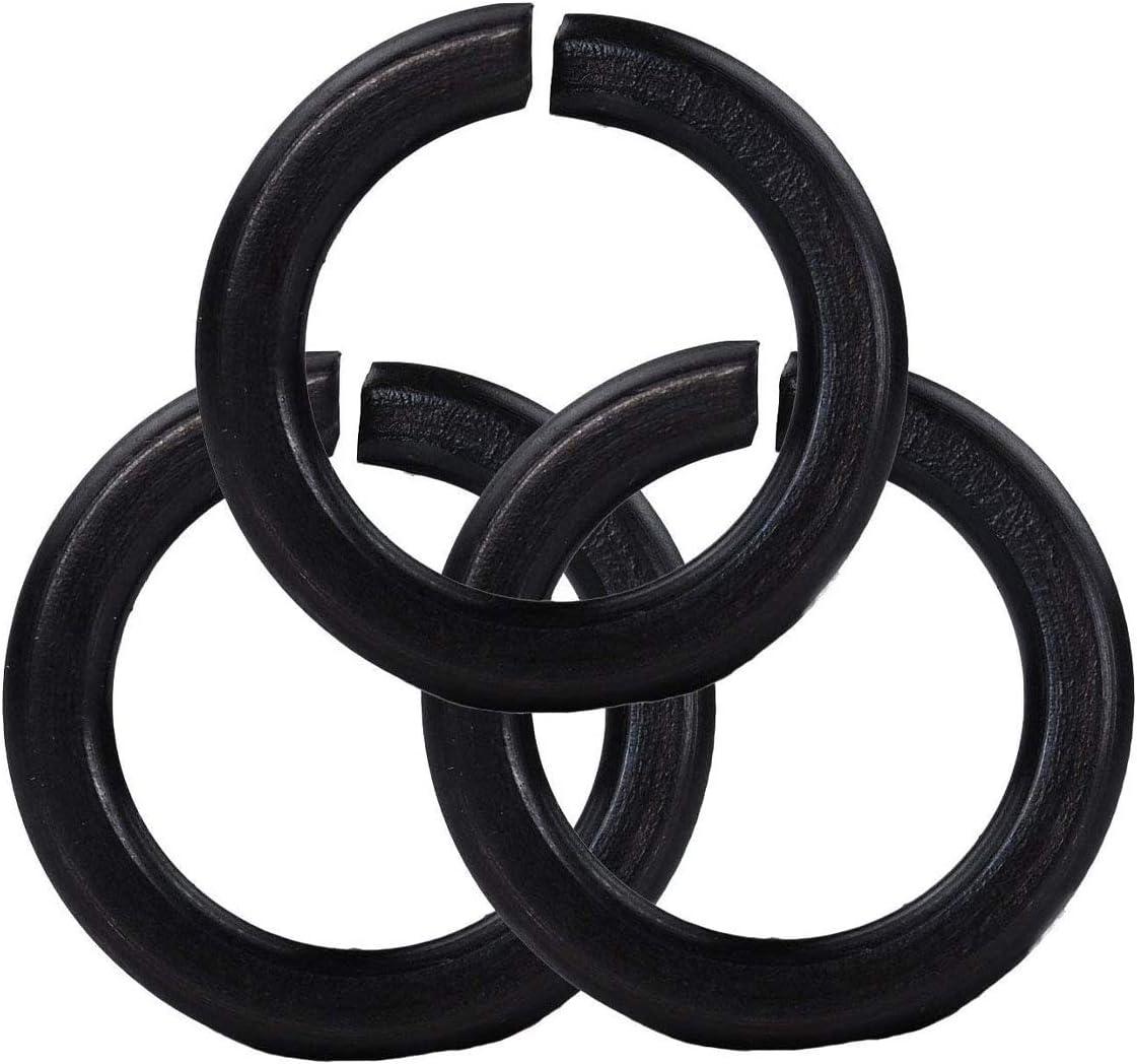 L-A M30 Split Lock Washer Black Award Carbon Long-awaited Sprin Steel GB-93 Metric
