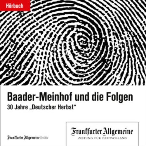 Baader-Meinhof und die Folgen Titelbild